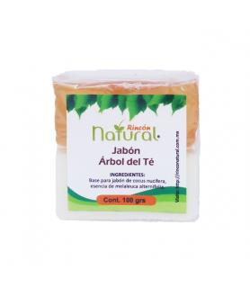 Jabon Arbol del té (Tea tree oil)