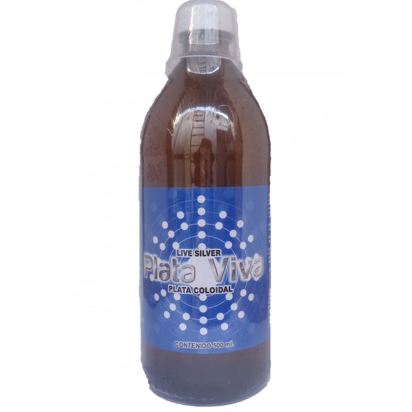 Plata Coloidal 500 ml