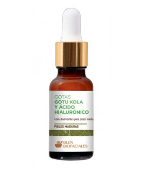 Gotas Gotu Kola y Acido Hialuronico