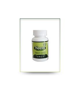 Cápsulas de hoja verde de neem