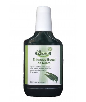Enjuague bucal de neem